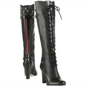 Sam Edelman Size 7 Black Sanford Tall Boots